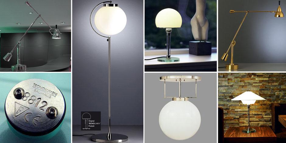 Tecnolumen Bauhaus Leuchten - Designklassiker