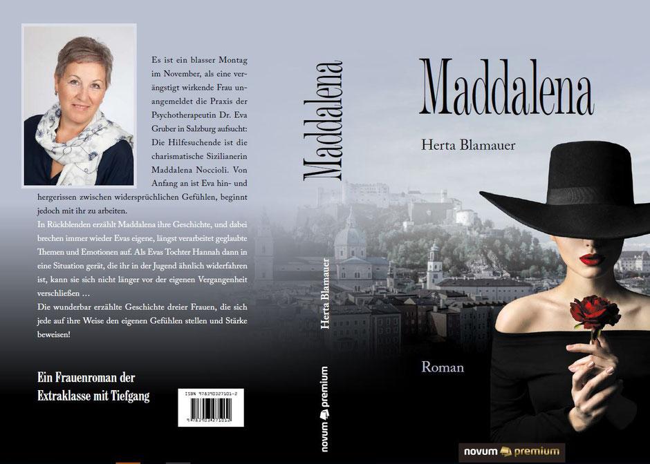 Herta Blamauer - Autorin & Psychotherapeutin - Maddalena - Ein Frauenroman - Buchcover