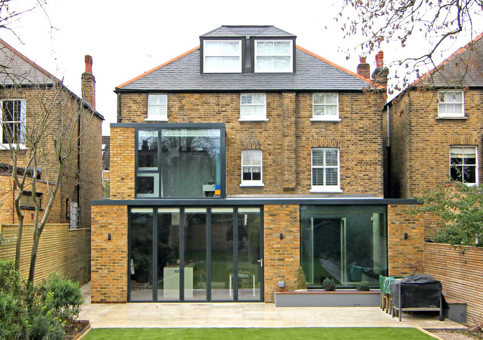 exposed timber joist structural engineering kew house conversion