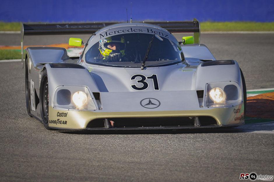 Porsche 962C - Le Mans Classic 2018 - Group C Racing- Hans-Jörg Hübner