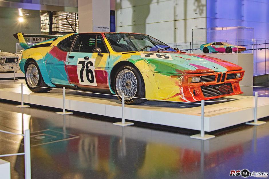 BMW M1 Art Car Andy Warhol - Sonderausstellung im BMW Museum 2018/19