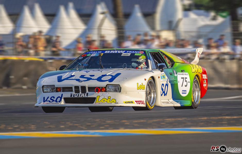BMW M1 Gruppe 5 - Albert Weinzierl - Le Mans Classic 2018