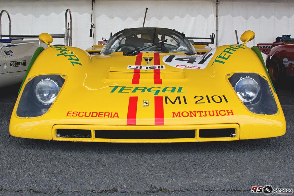 Ferrari 512 M - Plateau 5 - Le Mans Classic 2018