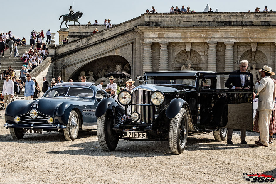 Talbot Lago T26 GS -  Bentley 8 Liter Foursome Coupé - Chantilly Arts & Elegance Richard Mille 2019
