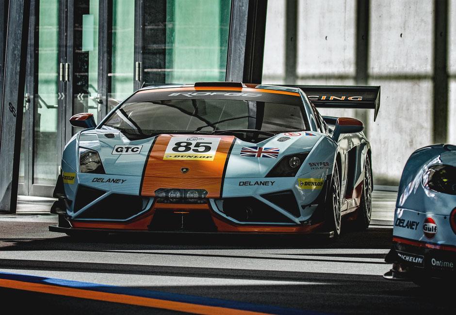 Lamborghini Gallardo GT3 - ROFGO Gulf Heritage Collection
