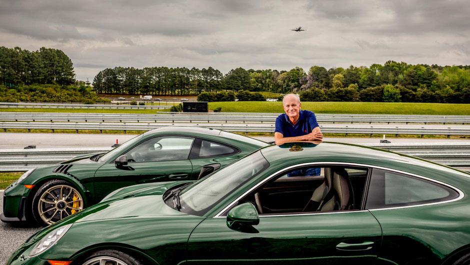 Jorge Carnicero und sein 911 GT3 Touring