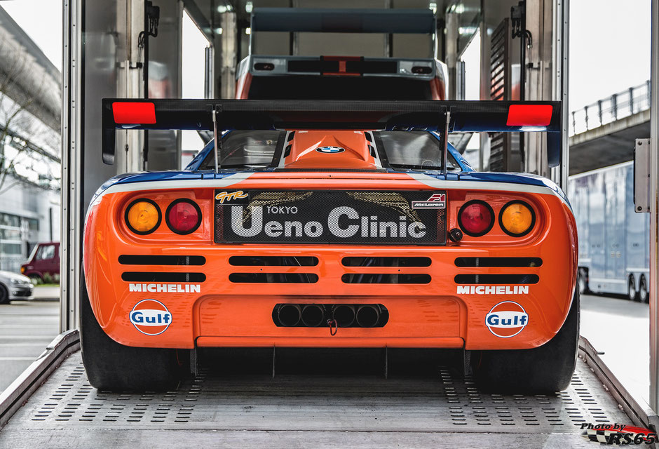 McLaren F1 GTR Short Tail - ROFGO Gulf Heritage Collection