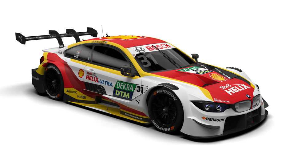BMW M Motorsport, 2020 DTM Season, #31 Shell BMW M4 DTM, BMW Works Driver Sheldon van der Linde (RSA).