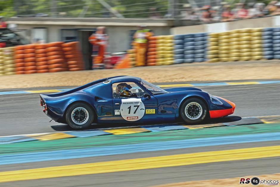 Chevron B8 BMW - Le Mans Classic 2018
