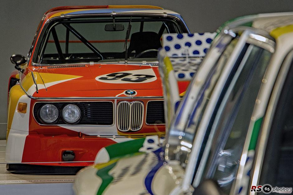 BMW 3.0 CSL - Alexander Calder - BMW Art Cars Sonderausstellung - BMW Museum