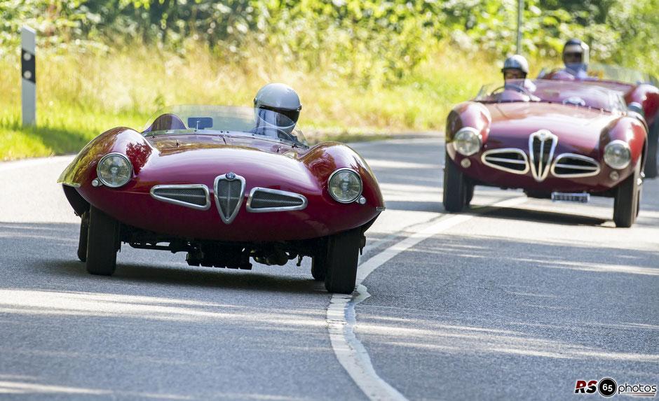 Alfa Romeo Disco Volante - Susen Utesch - Solitude Revival 2019