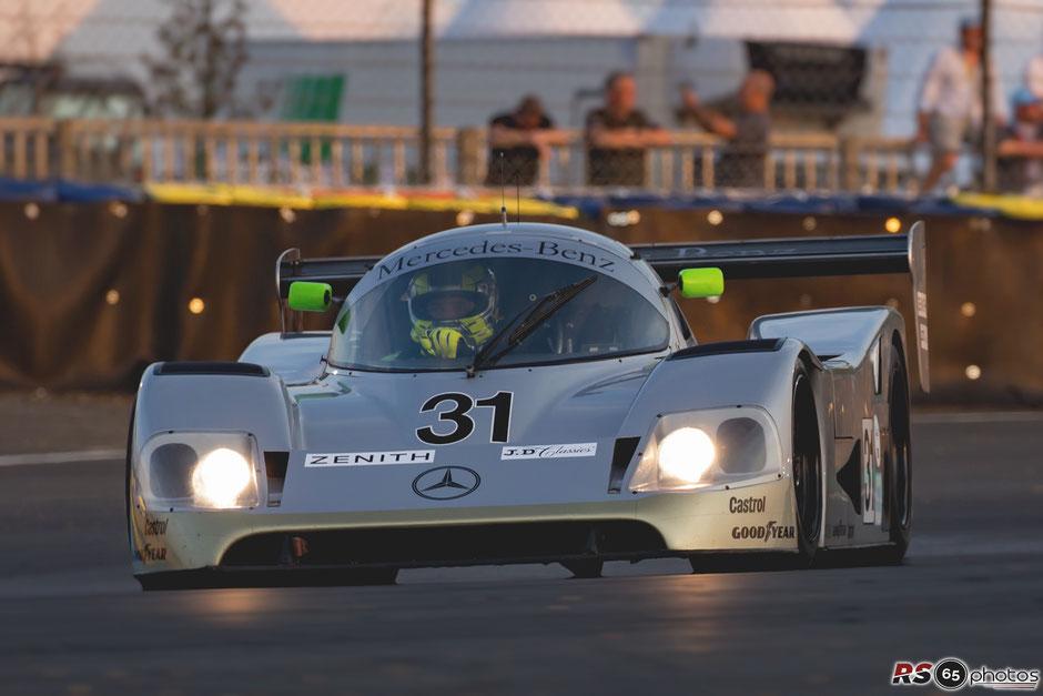 Mercedes - Benz C11 - Le Mans Classic 2018