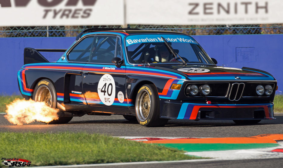 BMW 3.0 CSL - Heritage Touring Cup- Monza Historic 2019