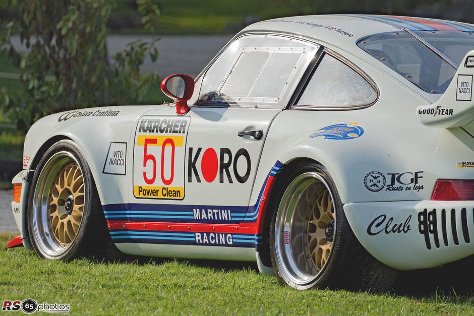 Porsche 911 Bi-Turbo GT1 - Chantilly Arts & Elegance Richard Mille 2019