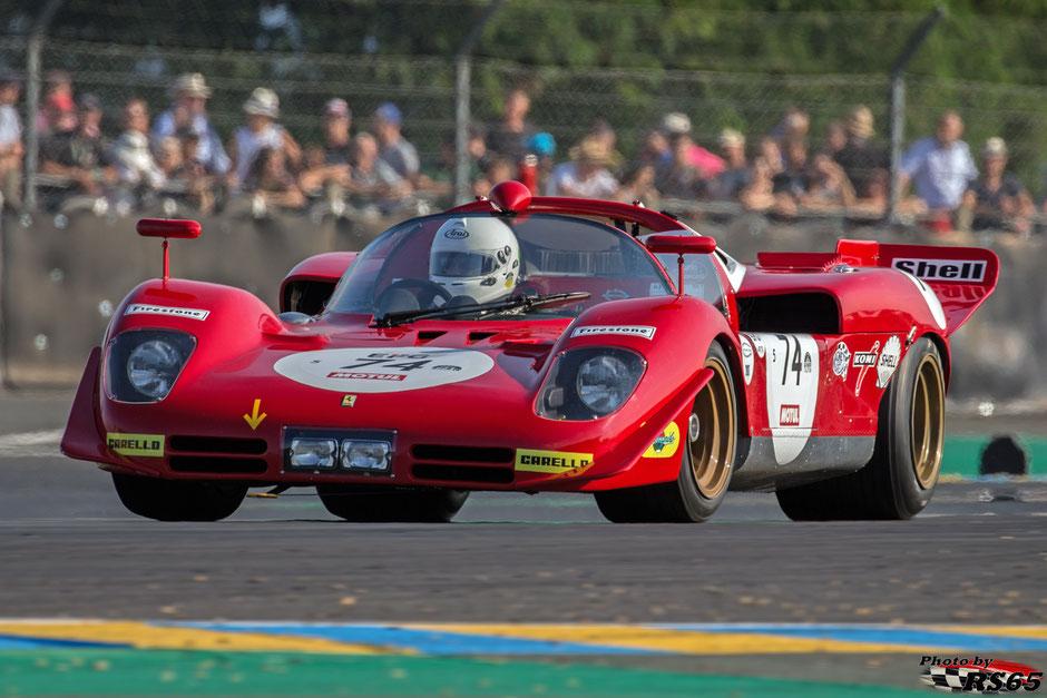 Ferrari 512 S - Le Mans Classic 2018 - Pierre Mellinger/Tommaso Gelmini