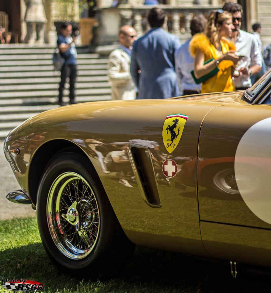 Ferrari 250 GT Berlinetta SWB Competizione @Concorso D'Eleganza Villa D'Este