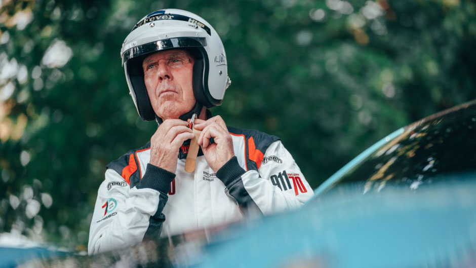 "Richard Attwood beim ""Festival of Speed"" in Goodwood 2019"