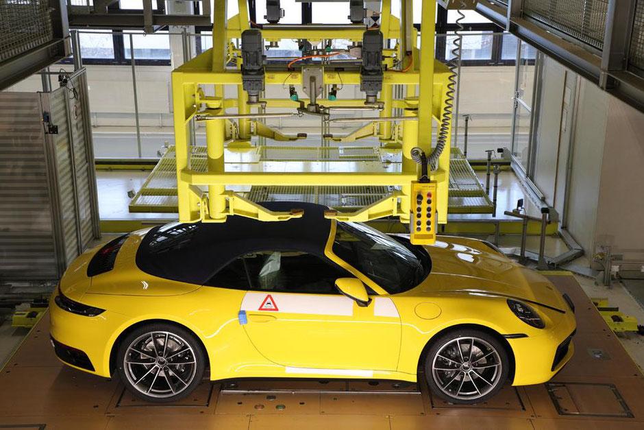 """Die Online-Plattform """"My Porsche"""" wird durch das neue Angebot noch attraktiver."""
