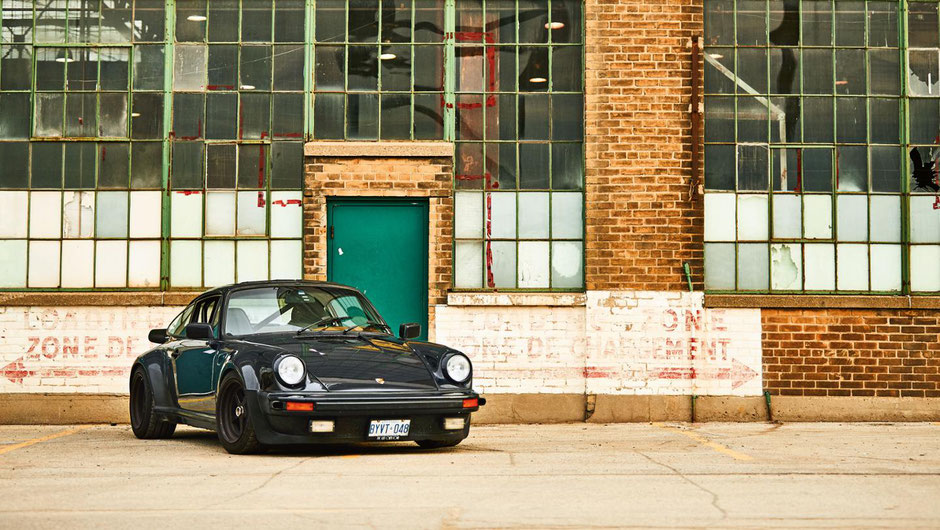 Bill MacEachern und sein Porsche 911 Turbo (Typ 930)