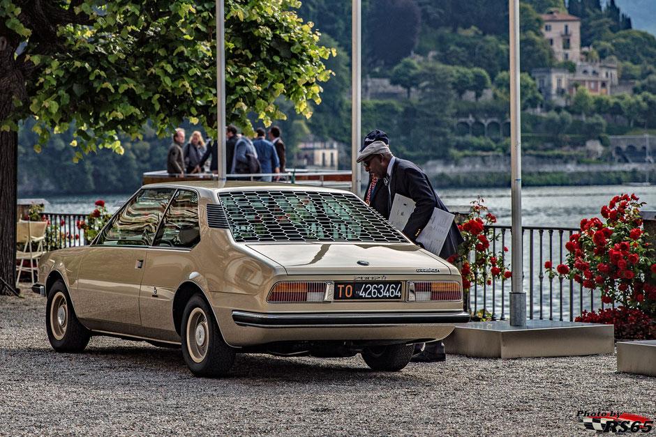 Der BMW Garmisch - BMW ehrt den visionären Designer Marcello Gandini - Concorso D'Eleganza Villa D'Este 2019