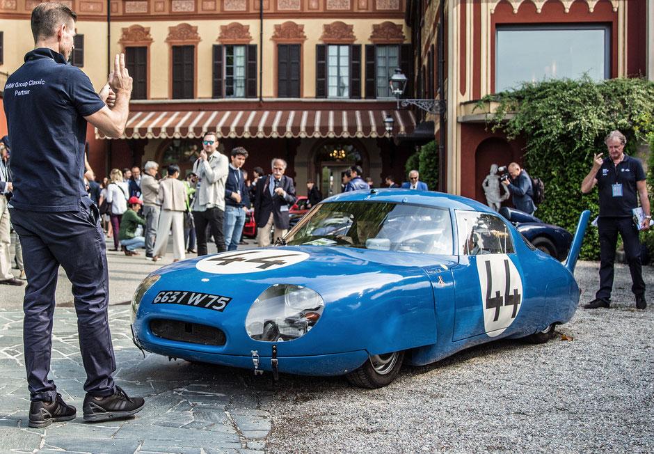 CD Panhard LM 64 - Concorso D'Eleganza Villa D'Este 2019