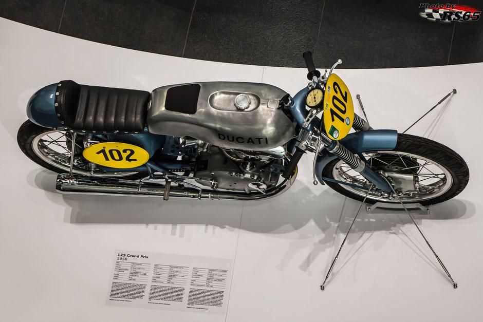 Ducati 125 Grand Prix 1956 - Audi museum mobile