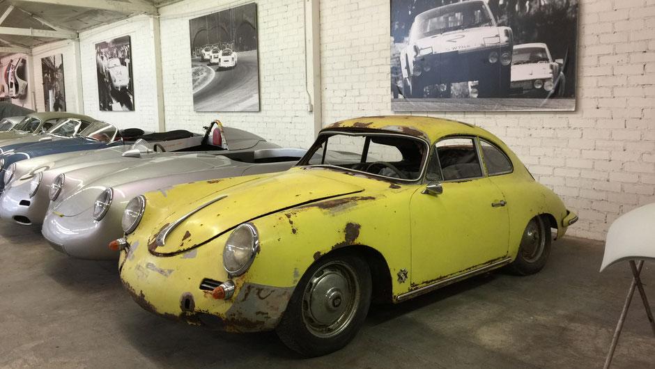 """Vor dem Umbau zum """"individuellsten Porsche 356 der Welt"""""""