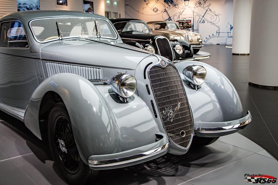 Alfa Romeo 6C 2300 B Mille Miglia 1938  - Alfa Romeo Museum
