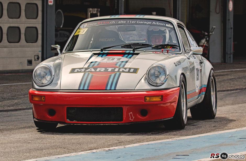 Porsche 911 Carrera RSR - George Wetter - 911 RS Alte 11er Garage Arbon
