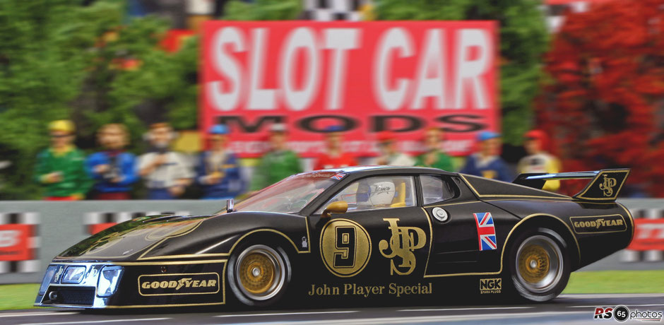 Sideways by Racer - Ferrari 512 BB John Player Special #9 - Limited Edition