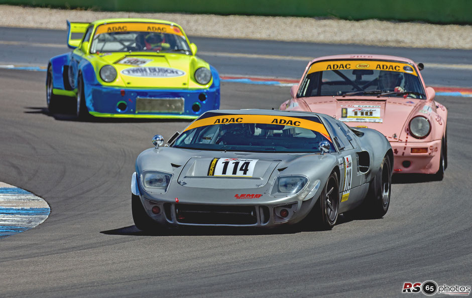 Ford GT 40 - Georg Nolte/Michael Funke - Youngtimer Trophy - Preis der Stadt Stuttgart 2020 - Hockenheimring