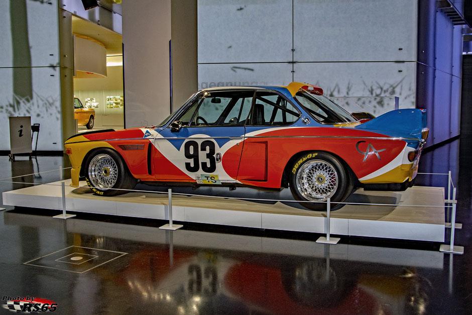 BMW 3.0 CSL - Alexander Calder 1975