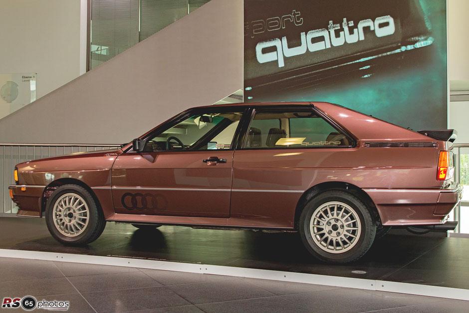 Audi quattro Coupé - 40 Jahre Audi quattro