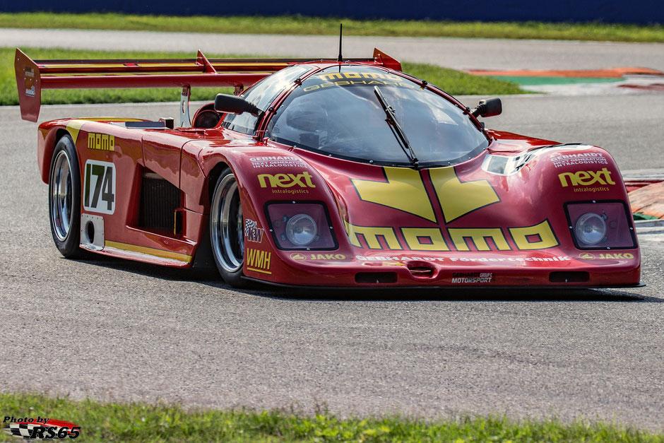 Gebhardt C88 - Group C Racing - Monza Historic 2019