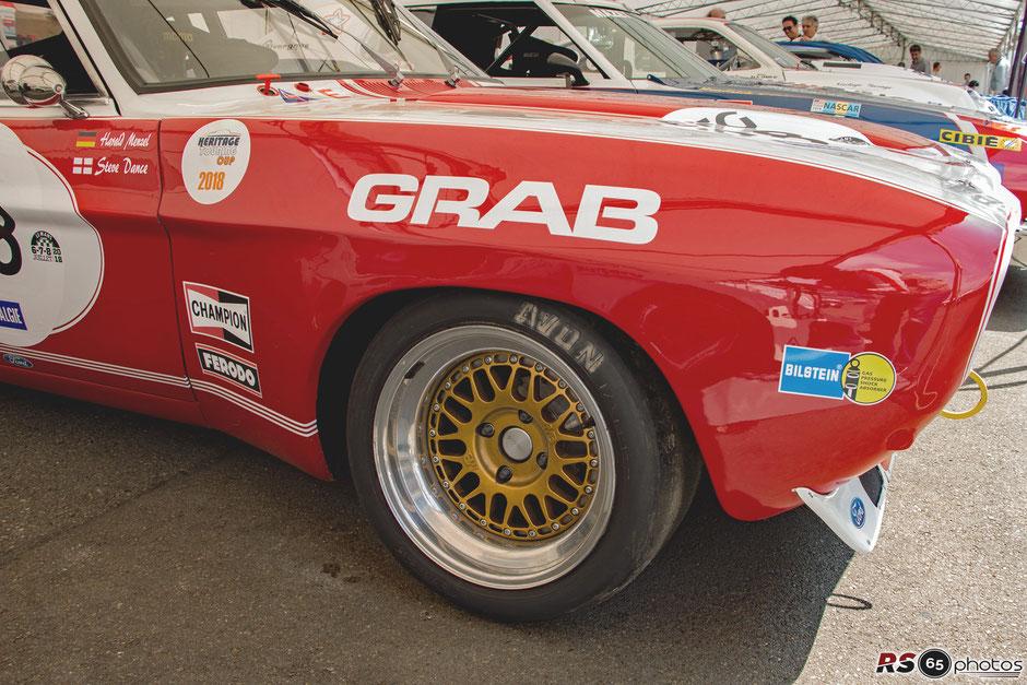 Ford Capri 2600 RS - Le Mans Classic 2018 - Plateau 6 - Steve Dance