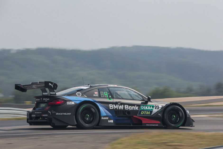 Nürburgring (GER), 8th to 11th June 2020. BMW M Motorsport, DTM test days. BMW works driver Lucas Auer (AUT), BMW Bank M4 DTM