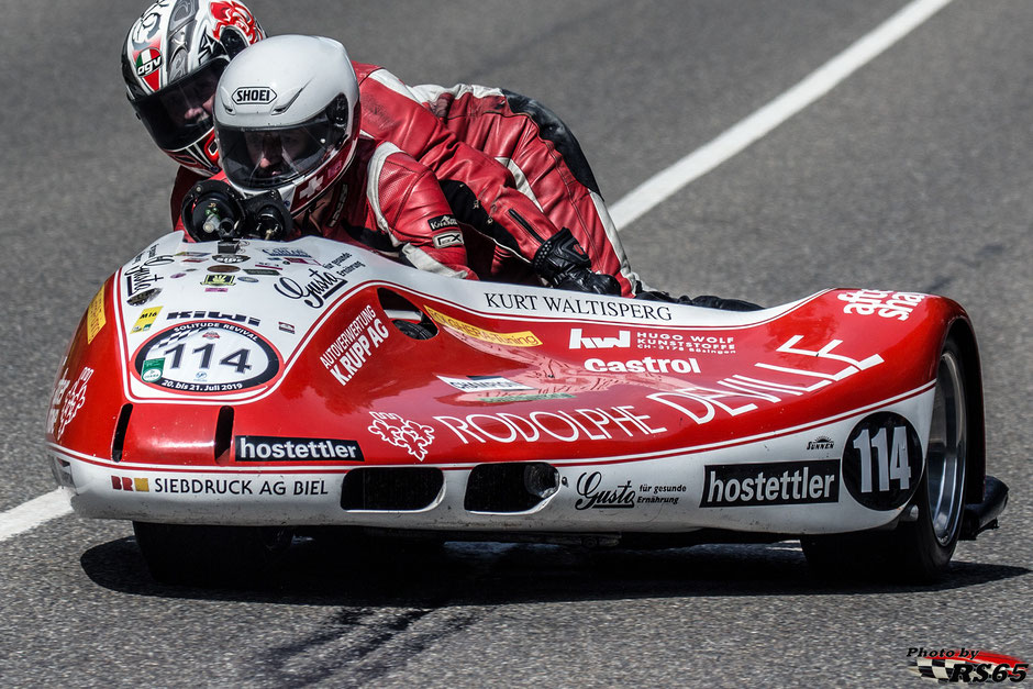 Schmied Yamaha GP Sidecar - Solitude Revival 2019