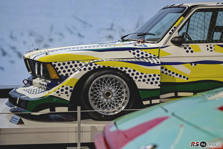 BMW 320i Gruppe 5 - BMW Art Car Roy Lichtenstein 1977