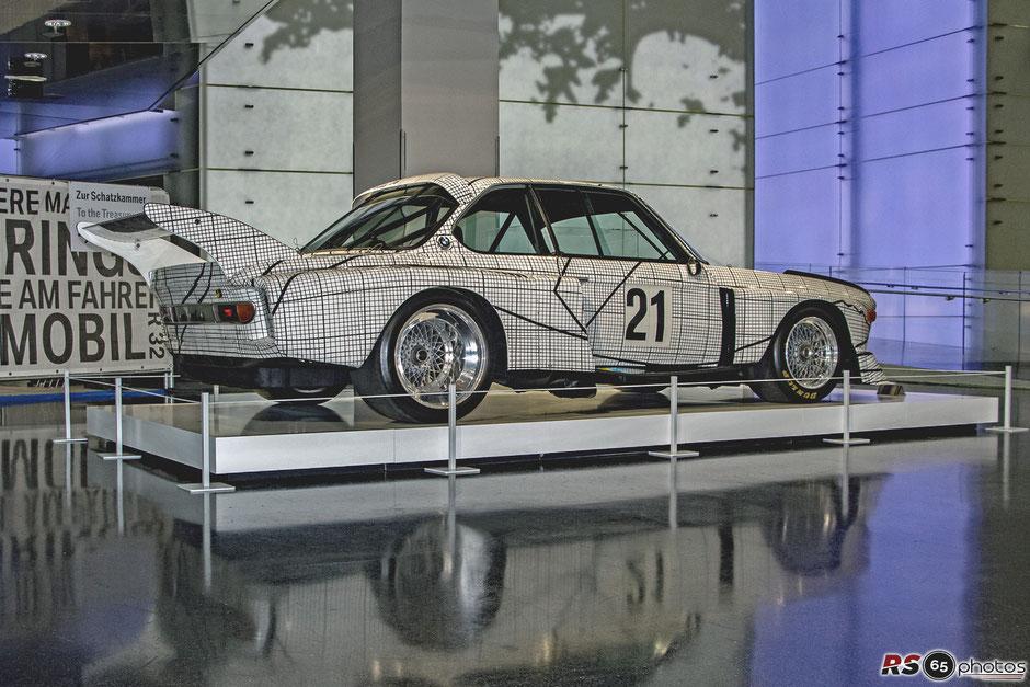 BMW 3.0 CSL - BMW Art Car Frank Stella 1976