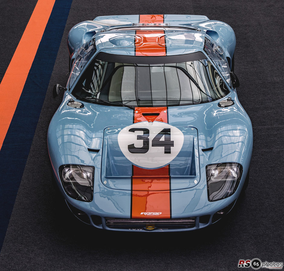 Ford GT40 - ROFGO Gulf Heritage Collection