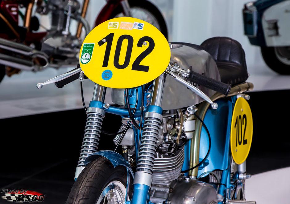 Ducati 125 Grand Prix 1956 Audi museum Ingolstadt