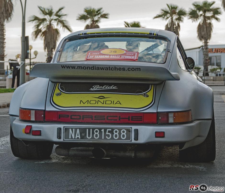 Porsche 911 SC RS - Sanremo Rally Storico 2019