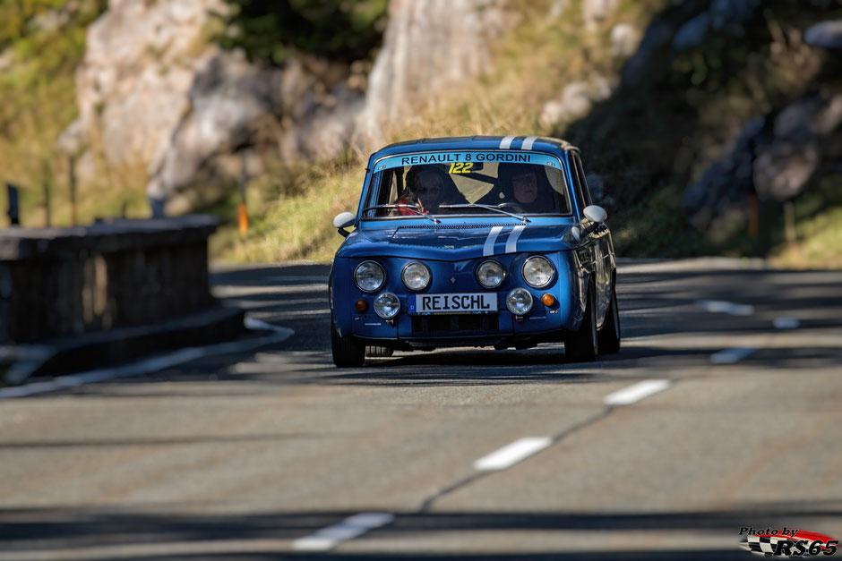 Renault R 8 Gordini - Rossfeldrennen 2018