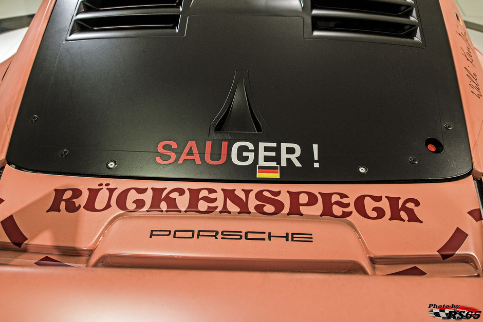 Porsche 911 RSR Sau - Porsche Museum