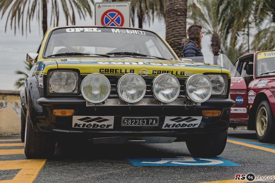 Opel Kadett GT/E - Sanremo Rally Storico 2019