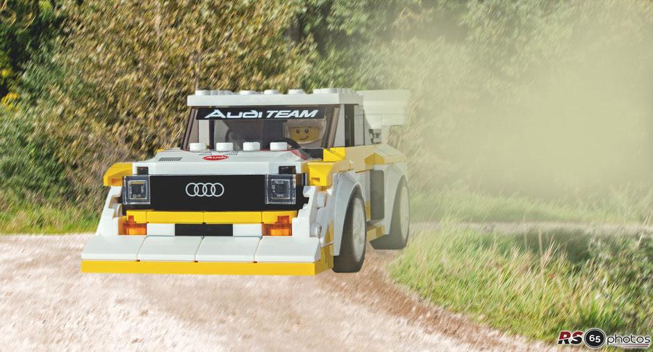 1985 Audi Sport quattro S1 - Lego Speed Champions