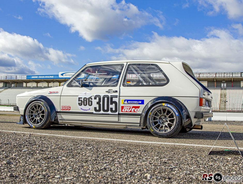 VW Golf - Erwin Buck - KW Berg-Cup - Hockenheimring 2021