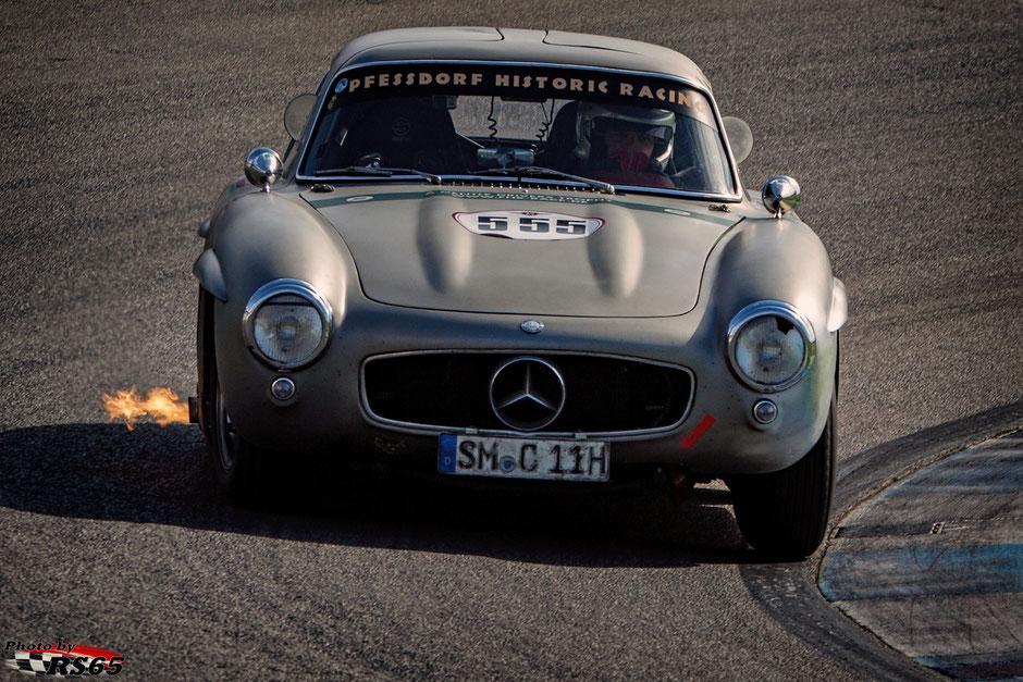 Mercedes Benz 300 SL - A Gentle Drivers Trophy - Pfessdorf Historic Racing - Preis der Stadt Stuttgart 2018 - Hockenheimring