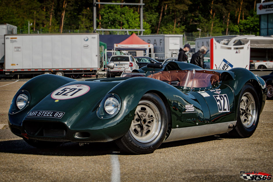 Jaguar Lister - A Gentle Drivers Trophy - Hockenheimring April 2018