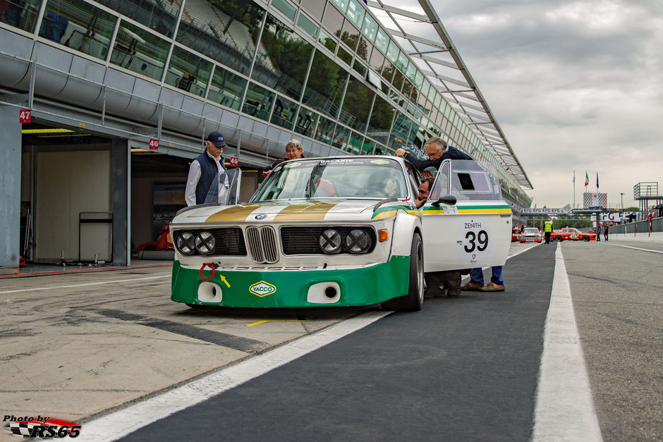 BMW 3.0 CSL - Monza Historic 2019 - Peter Auto